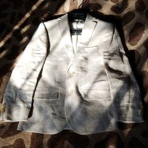 Ralph Lauren Boys Linen Dress Jacket - sz 10R